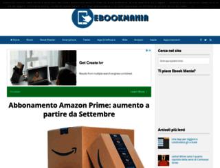ebookmania.it screenshot