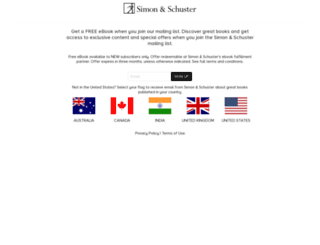 ebooknews.simonandschuster.com screenshot
