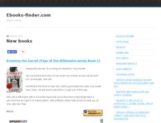 ebooks-finder.com screenshot