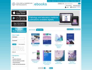 ebooks.cap.org screenshot