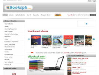 ebookspk.com screenshot