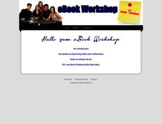 ebookworkshop.de screenshot