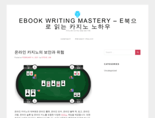 ebookwritingmastery.com screenshot