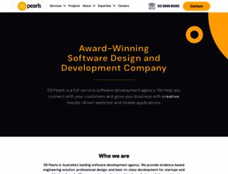 ebpearls.com.au screenshot