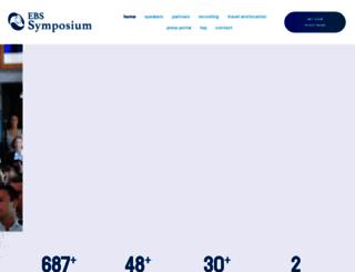 ebs-symposium.de screenshot