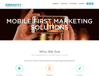 ebsavvy.com screenshot