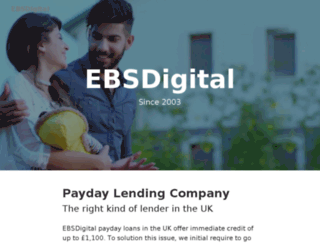 ebsdigital.co.uk screenshot