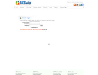 ebsuite.com screenshot