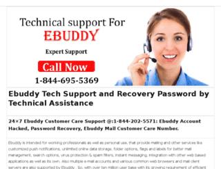 ebuddy.customerserviceno.com screenshot