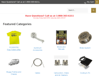 ebuggies.com screenshot