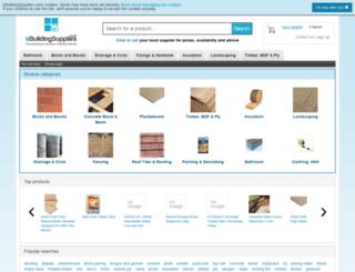 ebuildingsupplies.co.uk screenshot