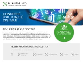 ebusiness.info screenshot