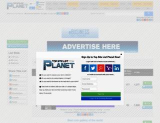 ebusiness.top-site-list.com screenshot