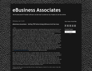 ebusinessassociates.blogspot.mx screenshot