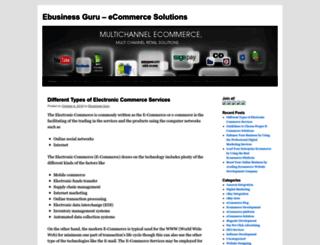 ebusinessguruinuk.wordpress.com screenshot