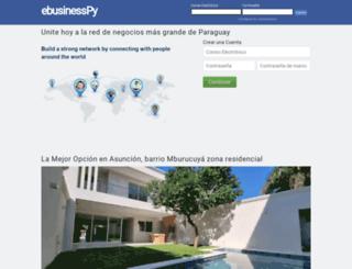 ebusinesspy.com screenshot