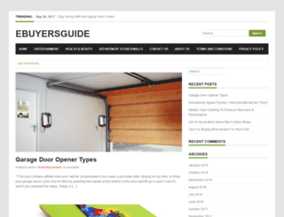 ebuyersguide.net screenshot