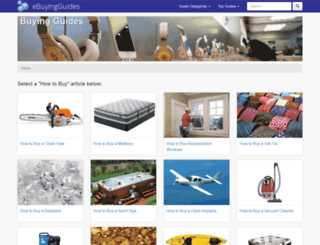 ebuyingguides.com screenshot