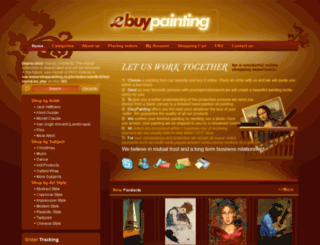 ebuypainting.org screenshot