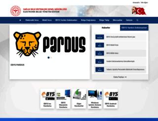 ebysindir.saglik.gov.tr screenshot