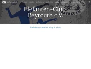 ec-bayreuth.de screenshot