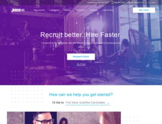 ec.theresumator.com screenshot