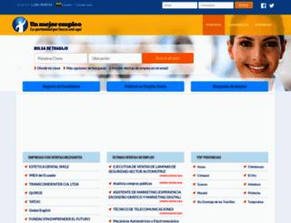 ec.unmejorempleo.com screenshot