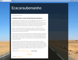 ecacaraubensesho.blogspot.com screenshot