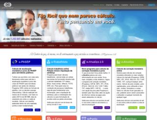 ecalculos.com.br screenshot