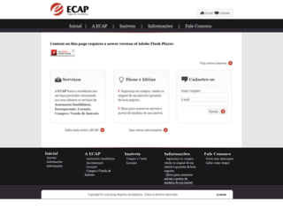 ecapimobiliaria.com.br screenshot