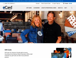 ecardsystems.com screenshot