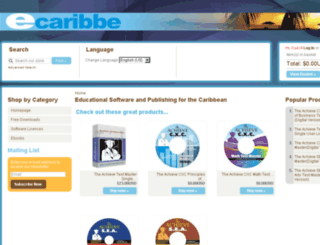 ecaribbe.net screenshot