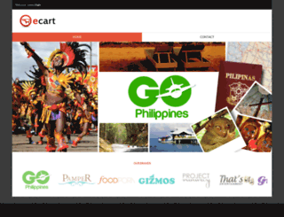 ecart.com.ph screenshot