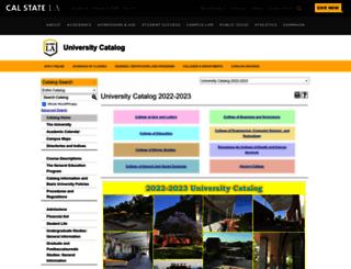 ecatalog.calstatela.edu screenshot