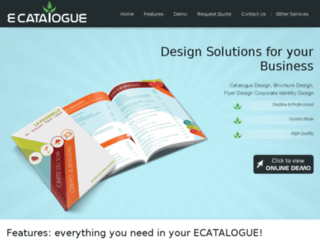 ecatalogue.cleandesign.in screenshot