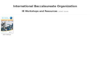 ecatalogue.ibo.org screenshot