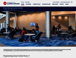 ecc.uic.edu screenshot