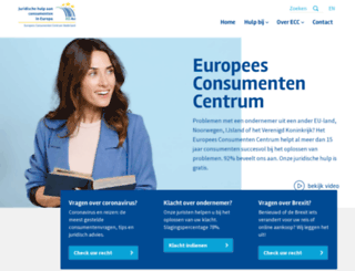 eccnl.eu screenshot