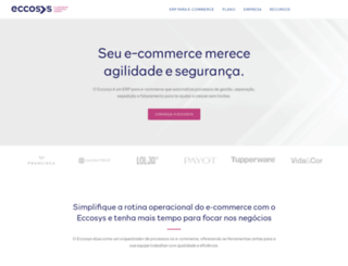 eccosys.com.br screenshot