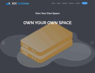 eccsolutions.net screenshot