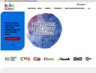 ecda.gov.sg screenshot