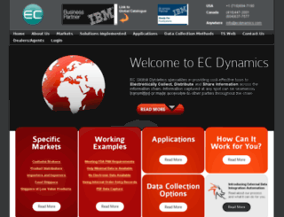 ecdynamics.com screenshot