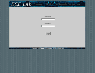 ecelab.com screenshot