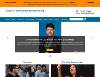 eceweb.ucsd.edu screenshot