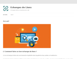echangesdeliens.fr screenshot