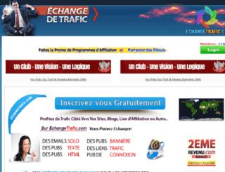echangetrafic.com screenshot