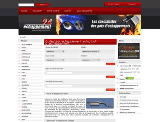 echappement-24.fr screenshot