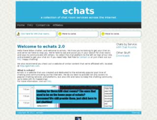 echats.net screenshot