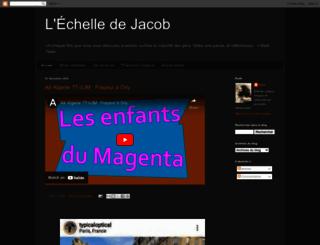 echelledejacob.blogspot.com screenshot