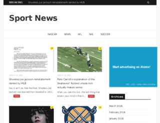 echo-sports.com screenshot